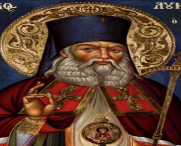 Λείψανα Αγίου Λουκά Ιατρού στο Κολυμβάρι Χανίων