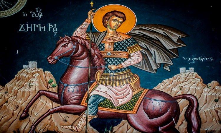 Λείψανα Αγίου Δημητρίου στο Μαλαντρένι Αργολίδος