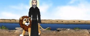 Όσιος Γεράσιμος ο Ιορδανίτης για παιδιά