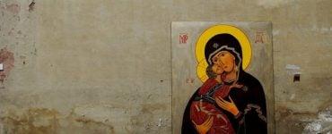 Η Παναγία Εσφαγμένη από τη Μονή Βατοπαιδίου στην Άρτα