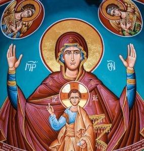 Η προσευχή στην Παναγία έχει μεγάλη δύναμη