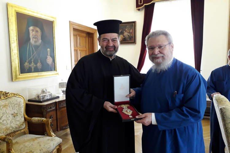 Νέος Έξαρχος του Πατριαρχείου Αλεξανδρείας στην Κύπρο