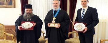 Η Μητρόπολη Χίου βράβευσε τον Αρχιεπίσκοπο Κύπρου