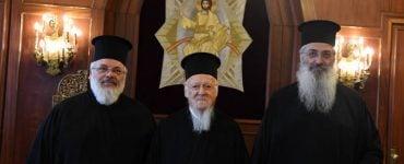 Οι Μητροπολίτες Αλεξανδρουπόλεως και Διδυμοτείχου στο Φανάρι