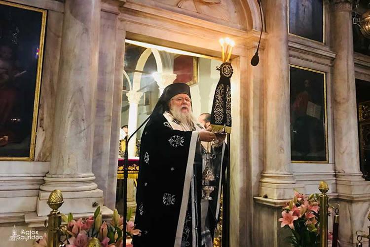 Κερκύρας Νεκτάριος: Να γίνουμε όλοι μας εκζητητές του ελέους του Θεού