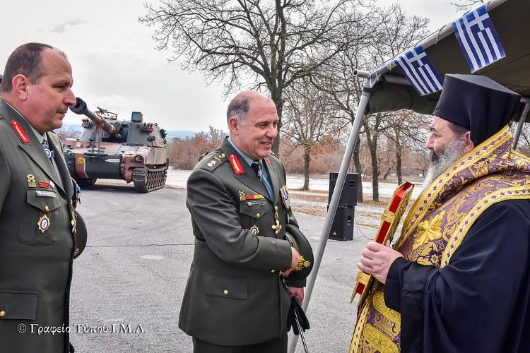 Αλλαγή Διοικητή 34ης ΜΧ Ταξιαρχίας Πεζικού στην Άσσηρο