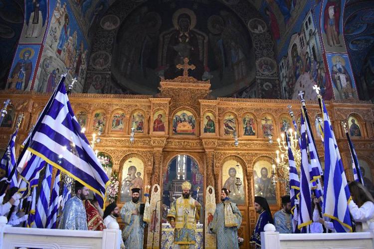 Εορτή της 25ης Μαρτίου στη Μητρόπολη Μαρωνείας (ΦΩΤΟ)