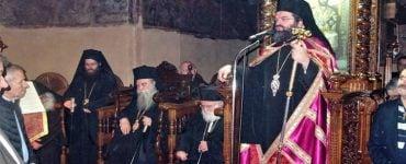 Πολυαρχιερατικός Εσπερινός στη Μονή Αγίων Τεσσαράκοντα Μαρτύρων Σπάρτης