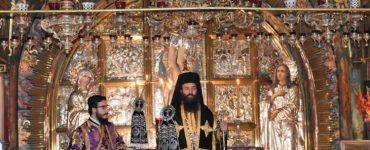 Α´ Προηγιασμένη Θεία Λειτουργία στο Πατριαρχείο Ιεροσολύμων