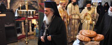 Εορτή Αγίων Θεοδώρων στο Πατριαρχείο Ιεροσολύμων