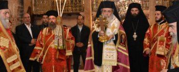 Επέτειος 25ης Μαρτίου στο Πατριαρχείο Ιεροσολύμων