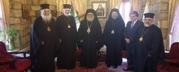 Αντιπροσωπεία Οικουμενικού Πατριαρχείου στο Πατριαρχείο Αντιοχείας (ΦΩΤΟ)