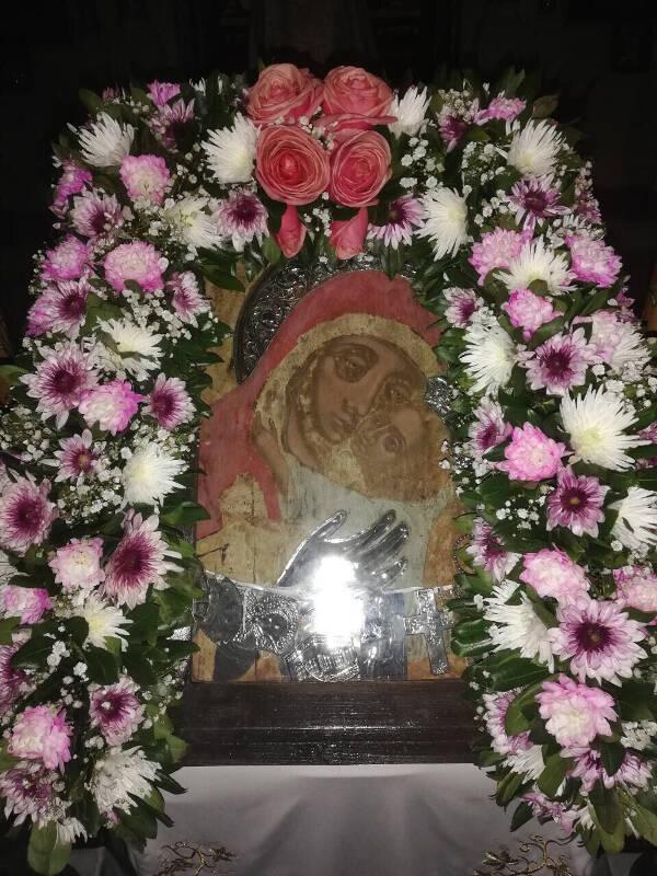 Η Εικόνα της Παναγίας Γλυκοφιλούσης στη Νέα Ιωνία (ΦΩΤΟ)