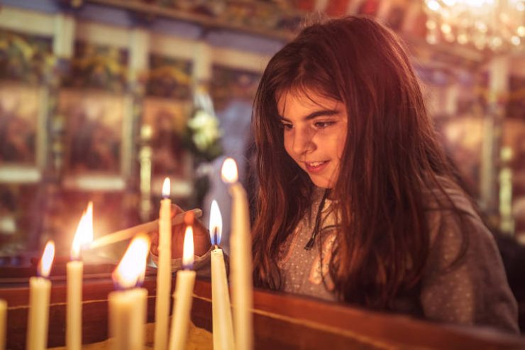 Παιδιά Προσευχή και Εκκλησία