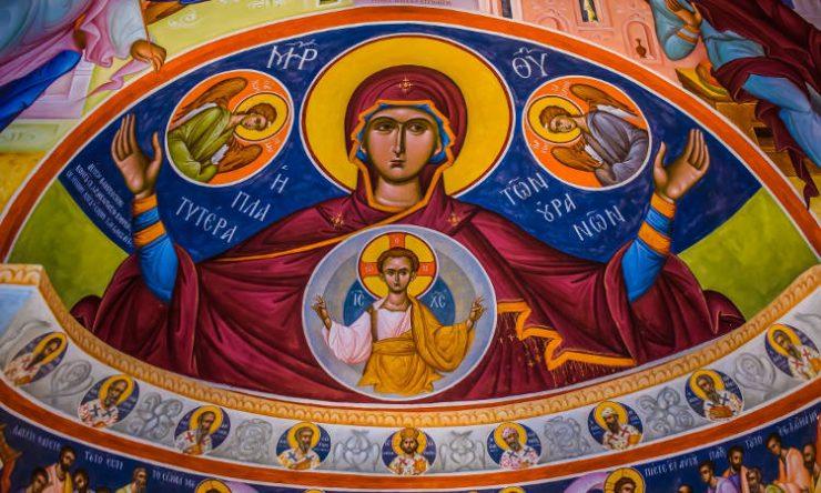 Πρώτη στάση των Χαιρετισμών στην Παναγία (ΒΙΝΤΕΟ)