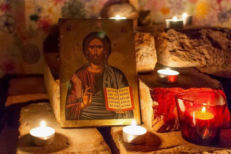 Αγρυπνία του Μεγάλου Κανόνος στην Παναγούδα Θεσσαλονίκης
