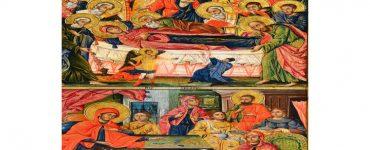 Δίζωνη Εικόνα της Παναγίας στον Παλαμά Καρδίτσας