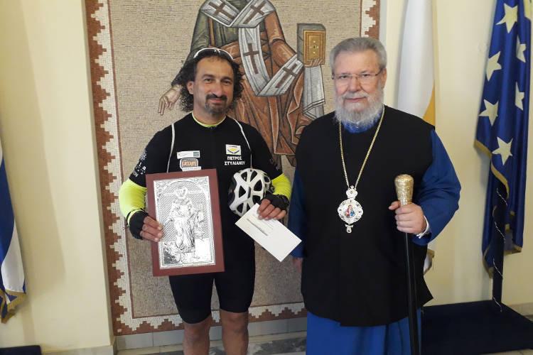 Αρχιεπίσκοπος Κύπρου: Θα είμαστε πάντα στο πλευρό των καρκινοπαθών
