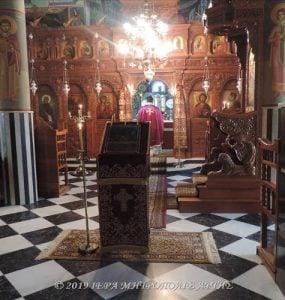 Μεγάλη Πέμπτη πρωΐ στη Μονή Ροβελίστης Άρτης