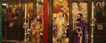 Διδυμοτείχου Δαμασκηνός: Με το Σταυρό εξασφαλίζουμε τον αιώνιο θρίαμβο