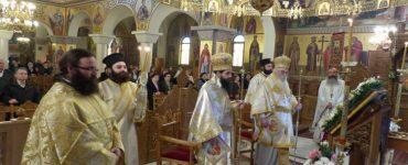 Εορτή του Αγίου Σάββα του εν Καλύμνω στο Άργος Ορεστικό (ΦΩΤΟ)