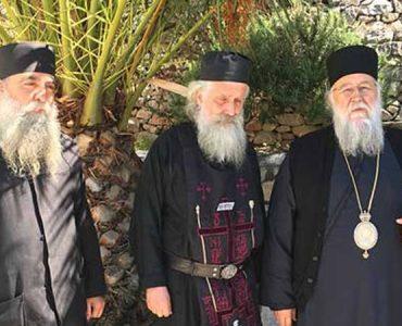 Κουρά Μεγαλόσχημου Μοναχού στην Νέα Σκήτη Αγίου Όρους