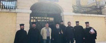 Επισκέψεις Μητροπολίτου Κερκύρας ενόψει του Αγίου Πάσχα