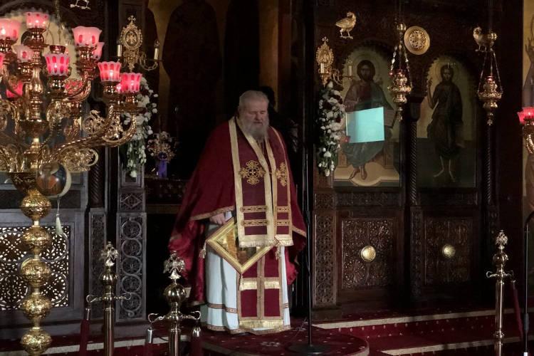 Προηγιασμένη Θεία Λειτουργία στα Λενταριανά Χανίων