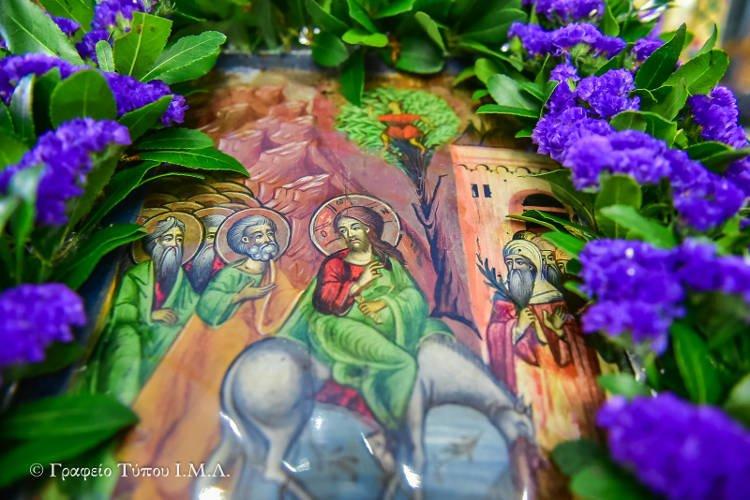 Η εορτής της Βαϊοφόρου στη Μητρόπολη Λαγκαδά (ΦΩΤΟ)