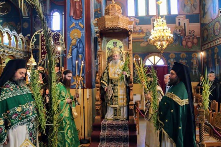 Κυριακή των Βαΐων στο Αντίρριο (ΦΩΤΟ)