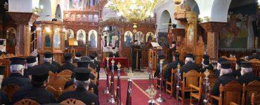 Ιερατική Σύναξη Απριλίου στη Μητρόπολη Παραμυθίας