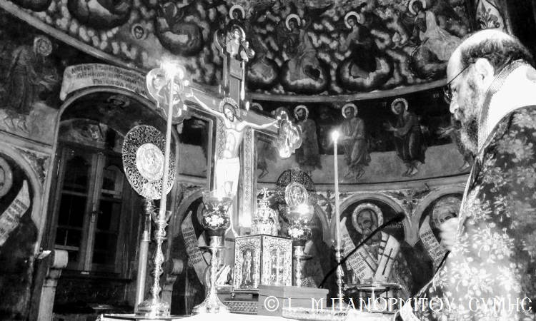 Ο Μέγας Κανών στη Μονή Πανορμίτου Σύμης