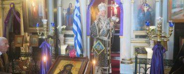 Τελευταία Προηγιασμένη Θεία Λειτουργία στη Μητρόπολη Σύρου