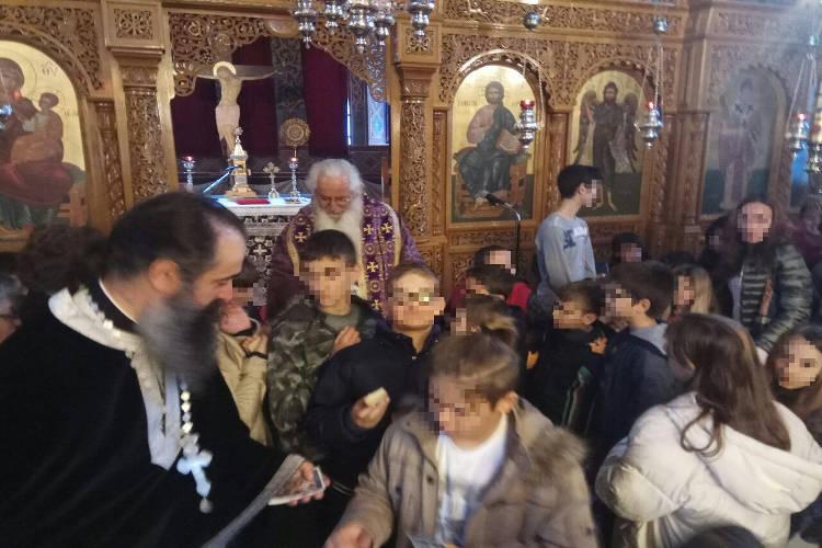 Προηγιασμένη Θεία Λειτουργία στην Ιερά Μητρόπολη Θηβών