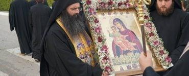 Η Μητρόπολη Τρίκκης υποδέχτηκε την Παναγία τη Μετεωρίτισσα