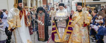 Λείψανο της Χειρός της Αγίας Μαρίας Μαγδαληνής υποδέχτηκε η Νάουσα (ΦΩΤΟ)