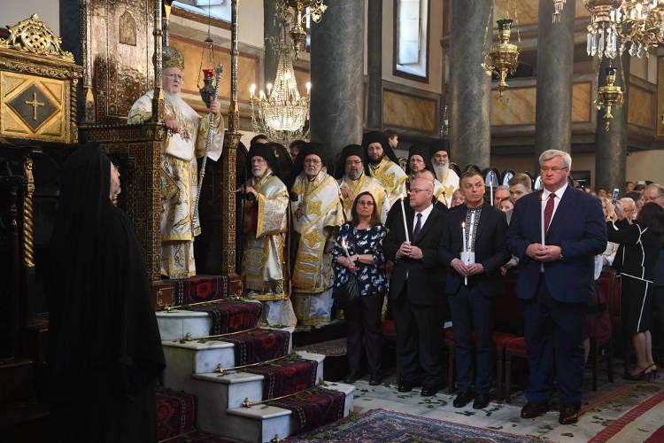 Η Κυριακή του Πάσχα στο Οικουμενικό Πατριαρχείο