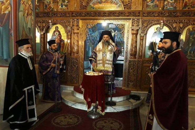 Προηγιασμένη Θεία Λειτουργία στην Καρδίτσα
