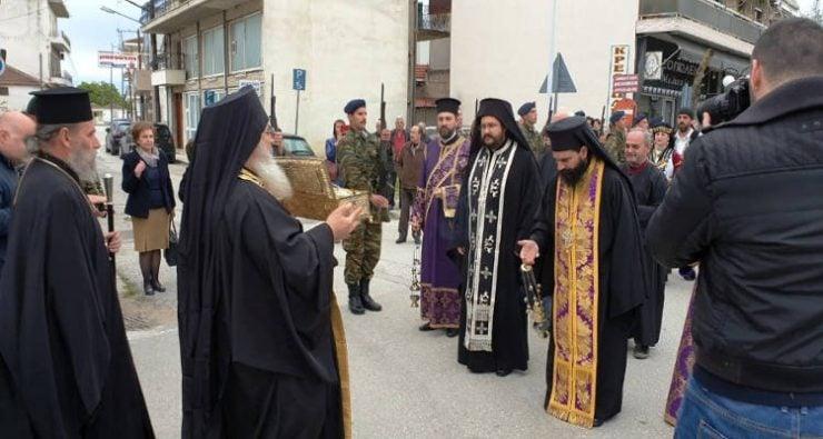 Οι Σοφάδες υποδέχτηκαν Λείψανο Αγίου Γεωργίου Τροπαιοφόρου από την Ιερά Μονή Οσίου Ξενοφώντος Αγίου Όρους