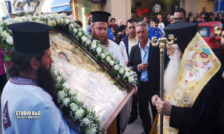 Η Παναγία η Σηλυβριανή στο Ναύπλιο (ΦΩΤΟ)