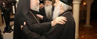 Συνάντηση του Αρχιεπισκόπου Κύπρου με τον Πατριάρχη Σερβίας