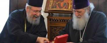 Συνάντηση Αρχιεπισκόπου Κύπρου με Πατριάρχη Βουλγαρίας
