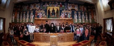 Φοιτητές της Θεολογικής Σχολής στην Ιερά Σύνοδο
