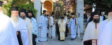 Η Λιτάνευση της Παναγίας Ελεούσης στην Έδεσσα (ΦΩΤΟ)