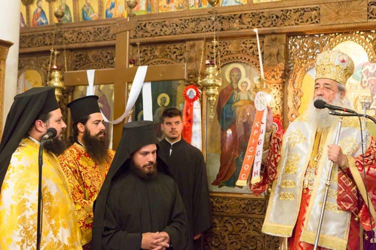 Νέος Μοναχός στην Ιστορική Μονή Παναγίας Αντινίτσης (ΦΩΤΟ)