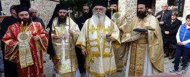 Μεταπασχάλια Ιερατική Σύναξη στη Μονή Παναγίας Μαυριωτίσσης (ΦΩΤΟ)