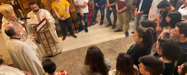 Μαθητική Θεία Λειτουργία στη Μητρόπολη Κισάμου