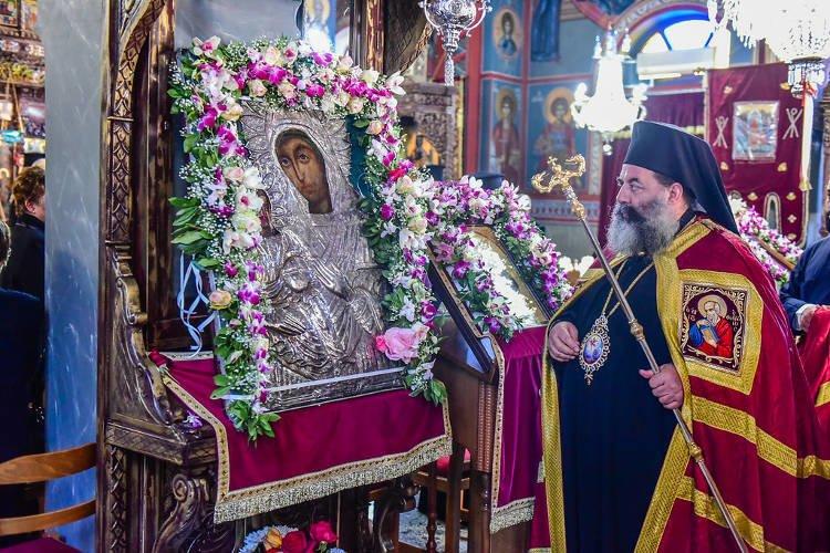 Εορτή Παναγίας Ρευματοκρατούσης στη Γέφυρα Θεσσαλονίκης (ΦΩΤΟ)