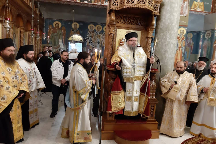 Εσπερινός Αγίου Αρσενίου στην Ελασσώνα