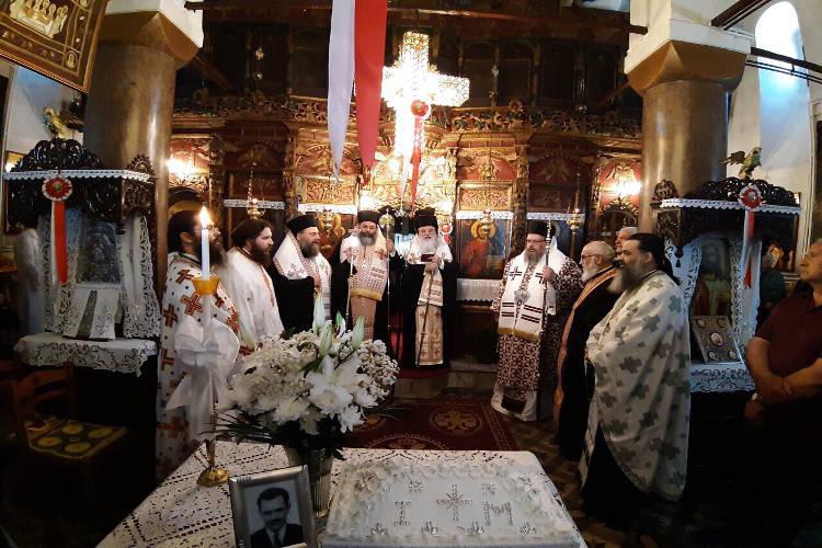 Αρχιερατική Θεία Λειτουργία στο χωριό Γοργογύριο Τρικάλων